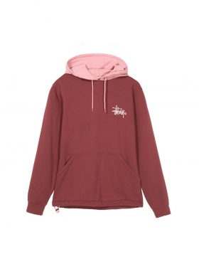 STUSSY – Two tone Hood (Burgundy)
