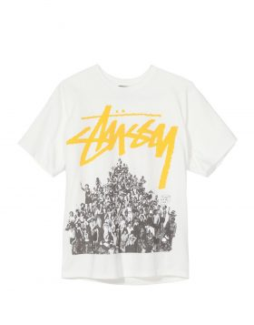 STUSSY – Beach Mob Pigment Dyed Tee (Natural/Yellow)