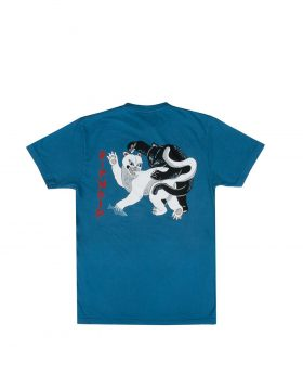 RIPNDIP – Brawl Tee (Harbor Blue)