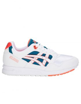 ASICS – GEL SAGA (White/flash coral)