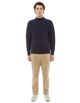 You Must Create – Montand Turtleneck (Navy)
