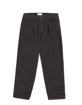 UNIVERSAL WORKS – Pleated Track Pant In Midnight Cord