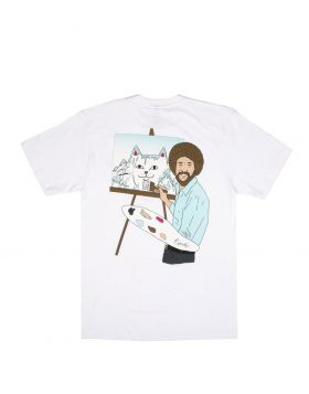 RIPNDIP – Ross Tee (White)