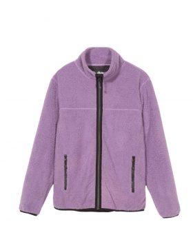 STUSSY – Sherpa mock (Purple)