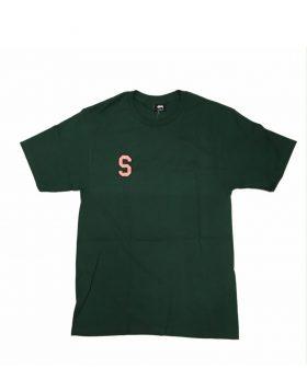 STUSSY – College Arc Tee (Pine)