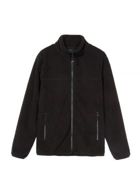 STUSSY – Sherpa Mock (Black)