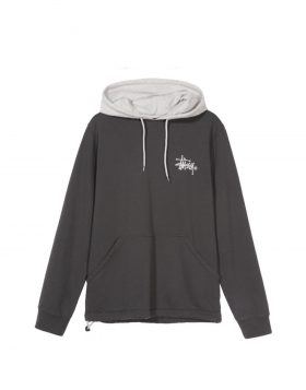 STUSSY – Two Tone Hood (Black)