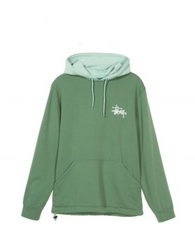 STUSSY – Two Tone Hood (Green)