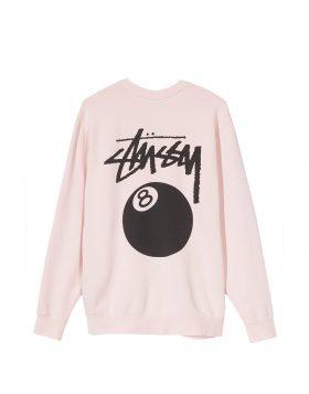 STUSSY – 8 BALL CREW (Pink)