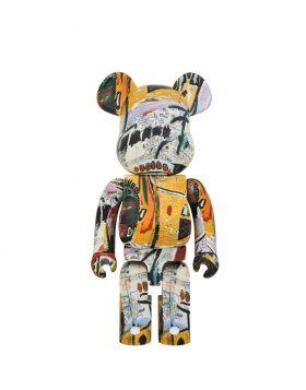 MEDICOM TOY – BE@RBRICK Jean – Michel Basquiat 1000%