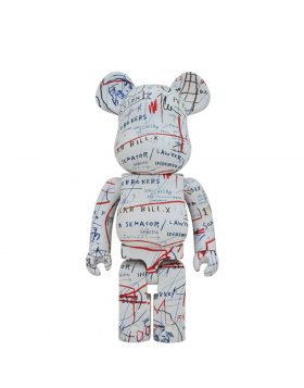 MEDICOM TOY – BE@RBRICK Jean – Michel Basquiat #2 1000%