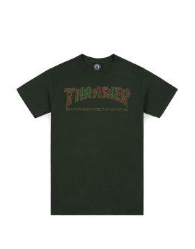 THRASHER – DAVIS Tee (Forrest Green)