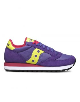 SAUCONY – JAZZ ORIGINAL (Purple/Slime/Red)