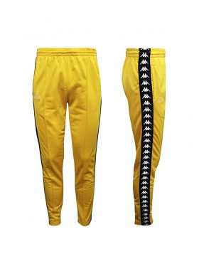 KAPPA – AUTHENTIC 222 BANDA RASTORIA SLIM (Yellow Mustard/Black)