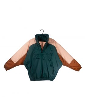 PACKMACK – Snow Monkey Waterpoof Down Jacket #600 (Forest Green Colour Block)