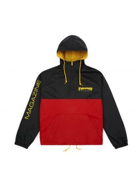 THRASHER – MAG LOGO Anorak JKT (Black/Red)