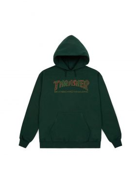 THRASHER – DAVIS Hood (Forrest Green)