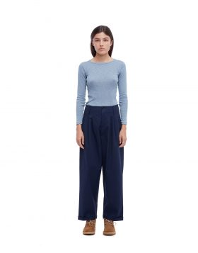 You Must Create – Keaton Cotton Trouser (Navy)
