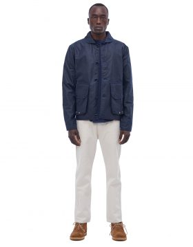 You Must Create – Poacher Waxed Jacket (Navy)