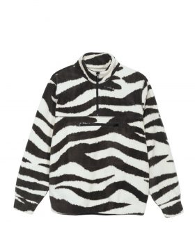 STUSSY – Polar Fleece Mock Neck (Zebra)
