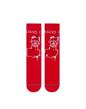 STANCE – Basquiat Cassius (Red)