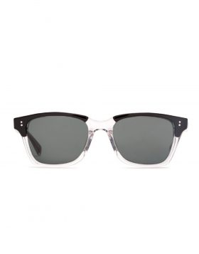 STUSSY – ANGELO Sunglasses (Half Clear/Black)
