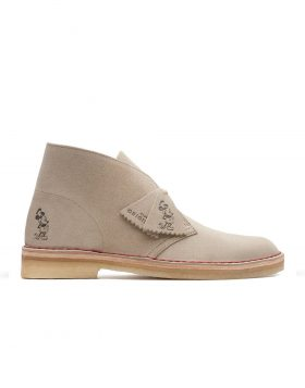 CLARKS – Desert Boot MICKEY MOUSE (Sand Suede Embos)