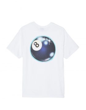 STUSSY – Mystic 8 Ball Tee (White)