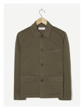 UNIVERSAL WORKS – Wamus Jacket in Olive Taka Cotton