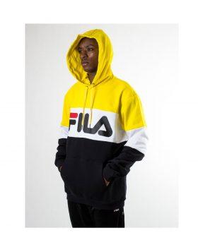 FILA – Night blocked hoodie (Black / Empire)