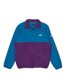 RIPNDIP – Castanza 3/4 Zip Up (Baby Blue / Lavender)