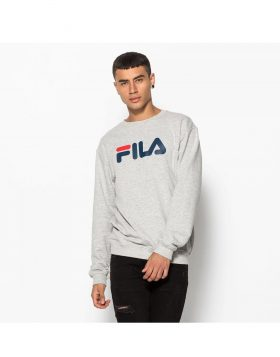 FILA – Classic Pure Crew Sweat (Light grey melange)