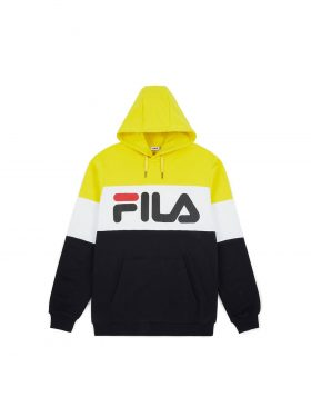 FILA – Night blocked hoodie (Black / Empire)