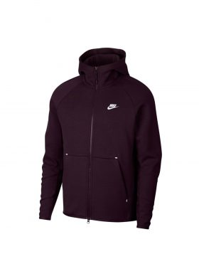 NIKE – Sportswear Tech Fleece (Burgundy / Ash White)