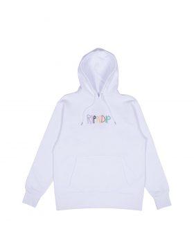 RIPNDIP – Multi Hoodie (White)