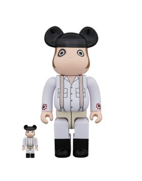 MEDICOM TOY – Be@rbrick ALEX DELARGE 100% + 400%