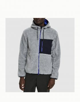 PENFIELD – ATKINS Hooded Fleece Jacket (Grey)