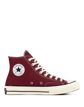 CONVERSE – CHUCK 70 Classic High Top (Dark Burgundy/Black/Egret)