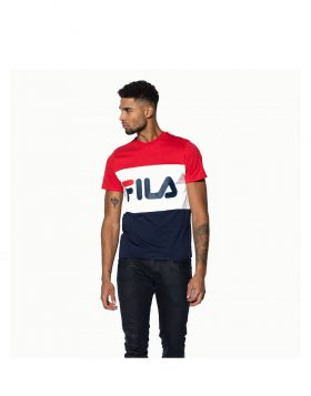 FILA – DAY TEE Man (Black Iris / True White)