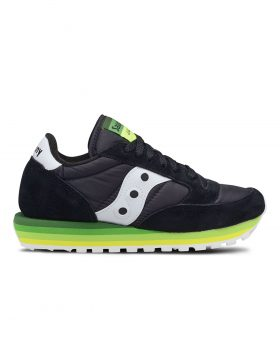SAUCONY – JAZZ ORIGINAL RAINBOW Woman (Black/Green)