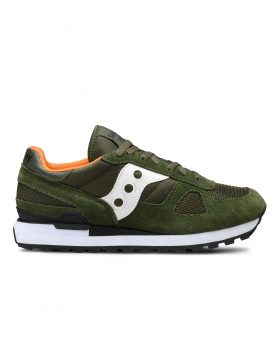 SAUCONY – SHADOW ORIGINAL Man (Dark Green/White)
