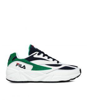 FILA – V94 Low Man (White/Fila Navy/Shady Glade)