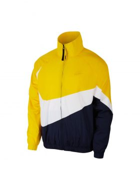 NIKE – Woven Windbreaker Jacket (Amarillo/White/Obsidian)