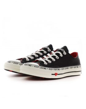 CONVERSE – CHUCK 70 OX Woman (Black/Sedona Red/Egret)