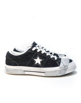 CONVERSE – One Stare OX Suede (Black/Grey Tape) – LIMITED EDITION