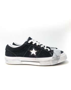 CONVERSE – ONE STAR OX SUEDE LTD (Black/Grey Tape) – LIMITED EDITION