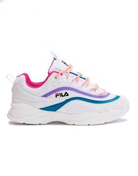 FILA – RAY LOW Woman (White/Very Berry)