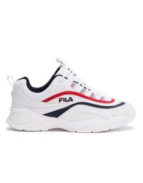 FILA – RAY LOW Man (White/Fila Navy)