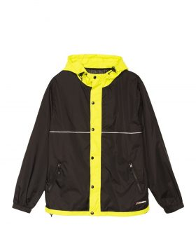 STUSSY – Honeycomb Hooded Jacket (Black)