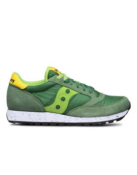 SAUCONY – Jazz O' Man Marble (Green/Yellow)
